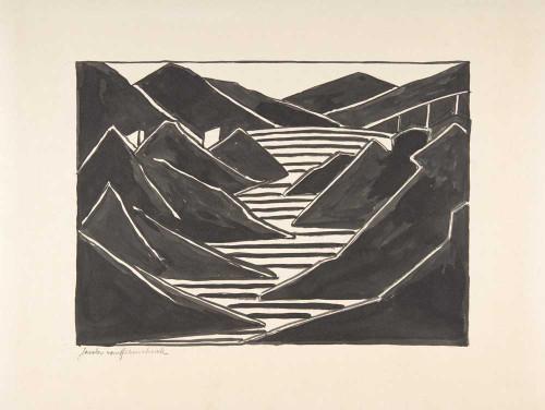 Giclee prints of Composition (Fjord) by Jacoba van Heemskerck van Beest