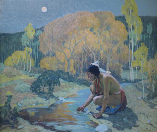 Giclee prints of Autumn Moon by Eanger Irving Couse