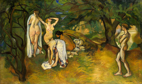Giclee prints of Joy of Life by Suzanne Valadon