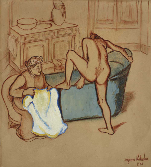 Giclee prints of Two Women by Suzanne Valadon