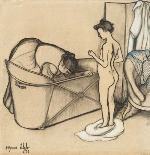 Giclee prints of Before the Bath by Suzanne Valadon