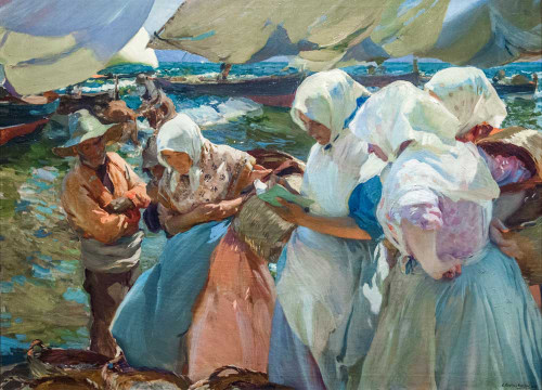 Giclee prints of Valencian Fisherwomen, 1903 by Joaquin Sorolla y Bastida