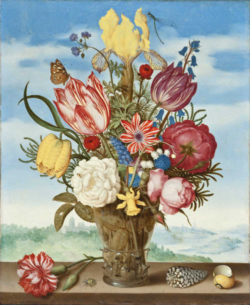 Giclee prints of Bouquet of Flowers on a Ledge by Ambrosius Bosschaert the Elder