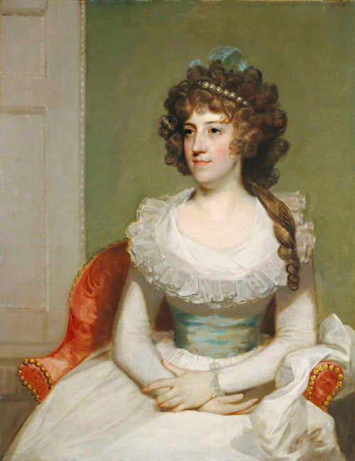 Giclee art prints of Matilda Caroline Cruger by 18th Century American Artist