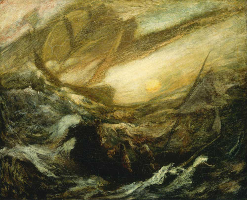 Giclee prints of Flying Dutchman by Arthur Pinkham Ryder