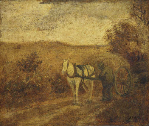 Giclee prints of Mending the Harness by Arthur Pinkham Ryder