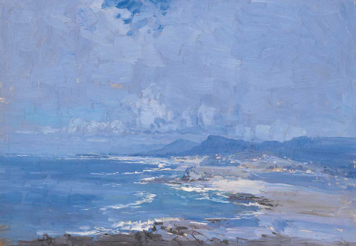 Giclee prints of Coastline, New South Wales by Penleigh Boyd