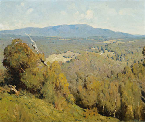 Art prints of Yarra Valley Landscape by Penleigh Boyd