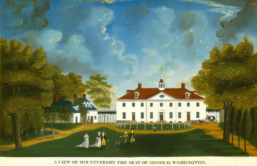 Art Prints of View of Mount Vernon, 1792 by 18th Century American Artist