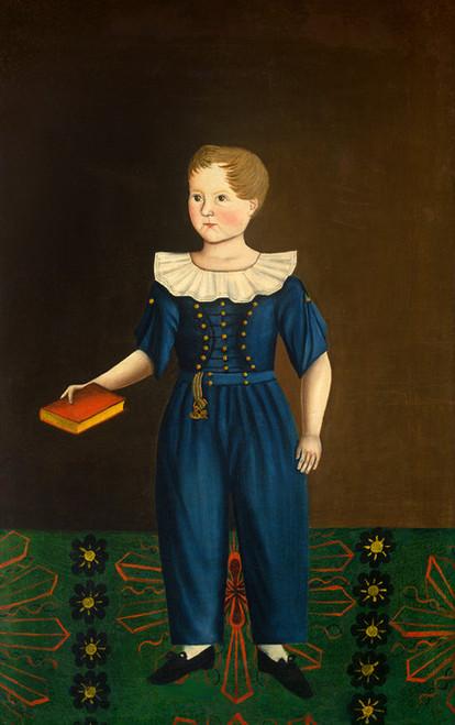 Art Prints of Boy in Blue by 19th Century American Artist