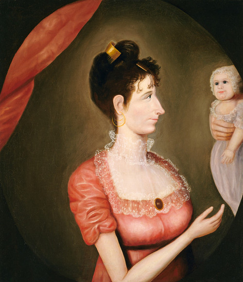 Art Prints of The Proud Mother by 19th Century American Artist