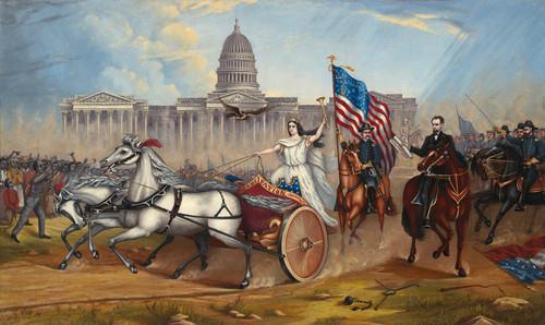 Art Prints of Emancipation Proclamation by A. A. Lamb