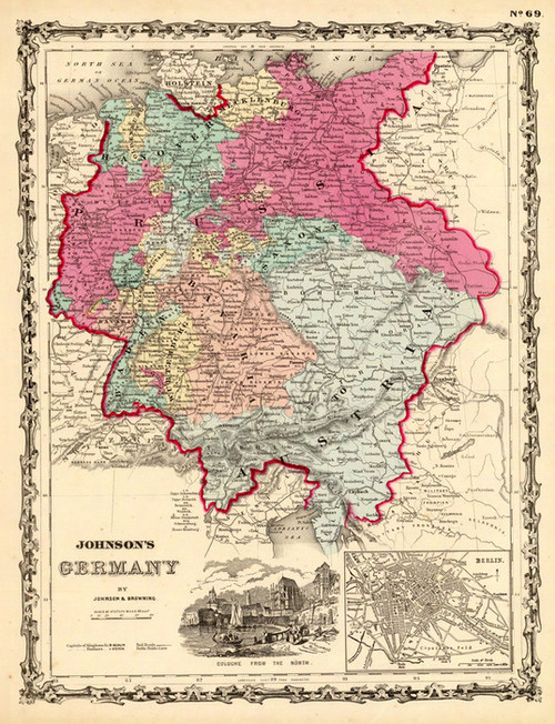 Art Prints of Germany, 1860 (2905045) by A.J. Johnson