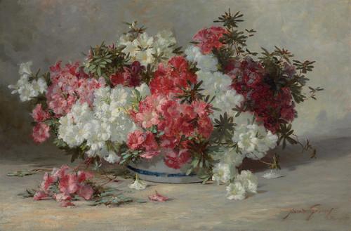 Art Prints of Azaleas by Abbott Fuller Graves