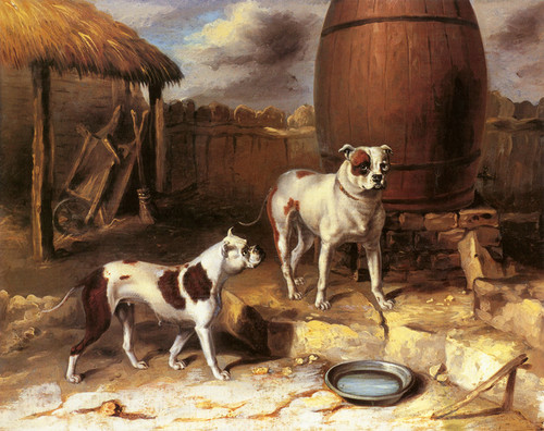 Art Prints of Crib and Rosa by Abraham Cooper
