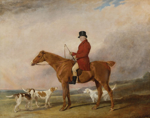 Art Prints of Thomas Rounding on His Favorite Hunter Spankaway by Abraham Cooper