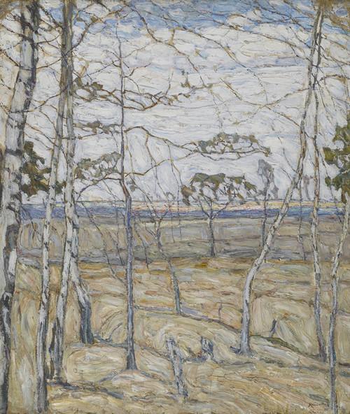 Art Prints of Birch Trees by Abraham Manievich