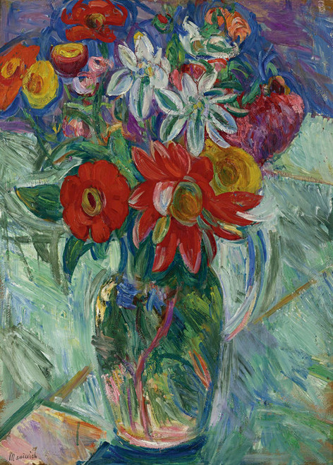 Art Prints of Flowers by Abraham Manievich
