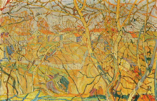 Art Prints of Golden Autumn by Abraham Manievich