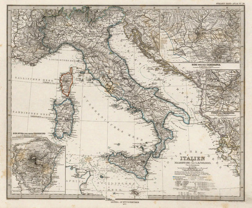 Art Prints of Italy, 1875 (2449031) by Adolf Stieler