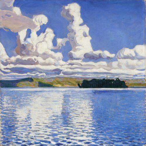 Art Prints of Cloud Towers by Akseli Gallen-Kallela