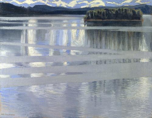 Art Prints of Lake Keitele by Akseli Gallen-Kallela