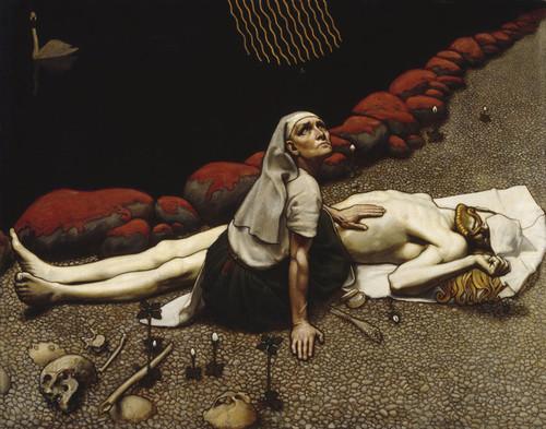 Art Prints of Lemminkainens Mother by Akseli Gallen-Kallela