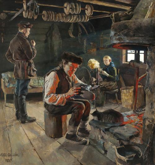 Art Prints of Rustic Life by Akseli Gallen-Kallela