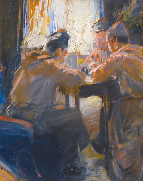 Art Prints of The Card Players by Akseli Gallen-Kallela