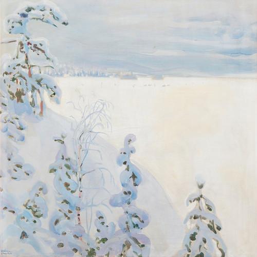 Art Prints of Winter Landscape by Akseli Gallen-Kallela