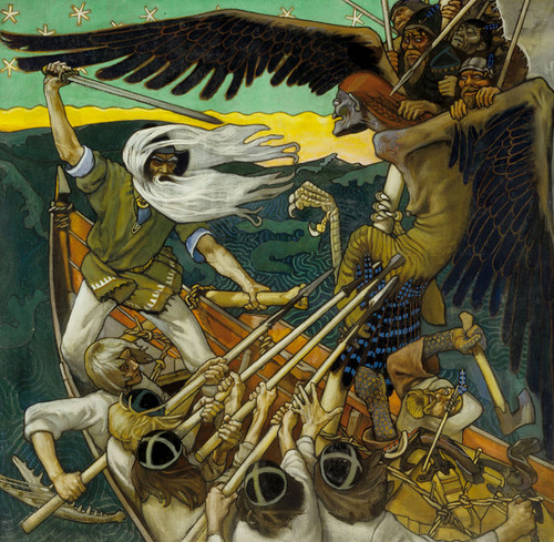 Art Prints of The Defense of the Sampo by Akseli Gallen-Kallela