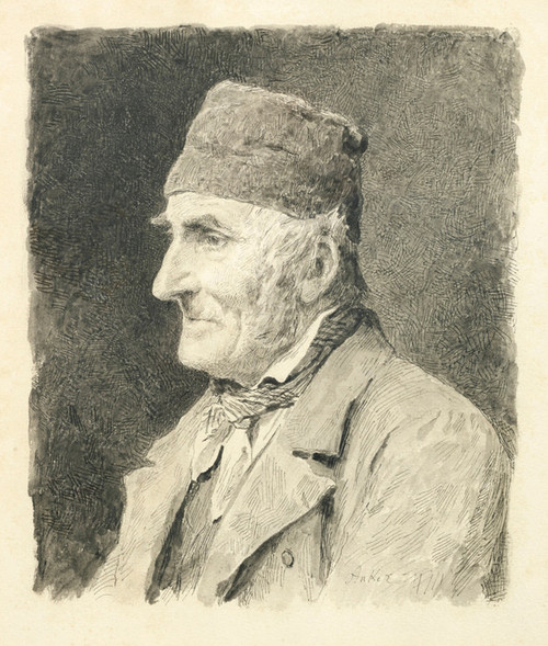 Art Prints of Bauer with Hat by Albert Anker