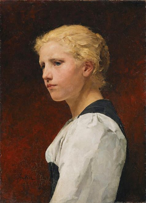Art Prints of Berner Girl by Albert Anker