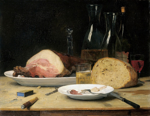 Art Prints of Still Life, Excess, 1896 by Albert Anker