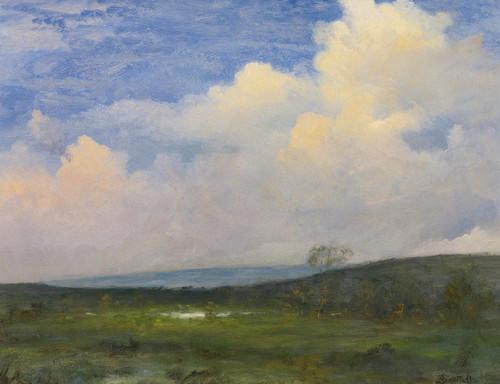 Art Prints of Clouds over California by Albert Bierstadt