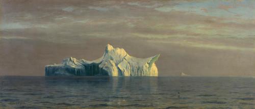 Art Prints of Iceberg by Albert Bierstadt