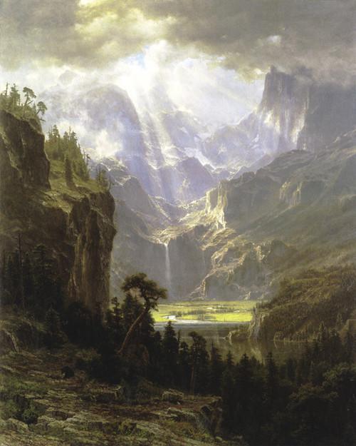 Art Prints of Landers Peak by Albert Bierstadt