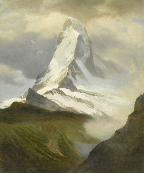 Art Prints of Matterhorn by Albert Bierstadt
