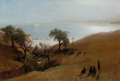 Art Prints of Monterey California by Albert Bierstadt