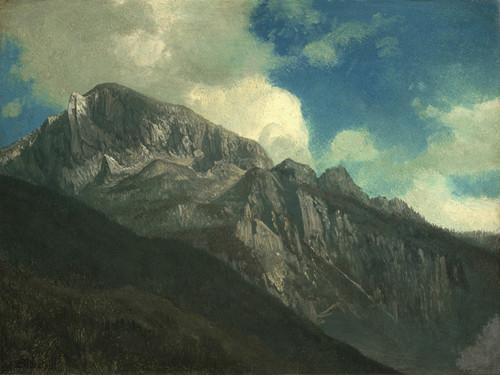 Art Prints of Mountains by Albert Bierstadt