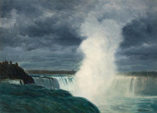 Art Prints of Niagara by Albert Bierstadt