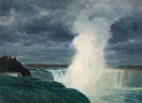 Art Prints of Niagara by Albert Bierstadt