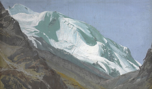 Art Prints of Glacier in the Pamirs, Asia by Alexander Evgenievich Yakovlev
