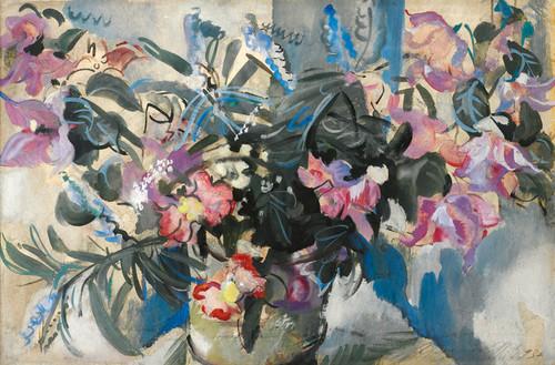 Art Prints of Flowers by Alexander Evgenievich Yakovlev