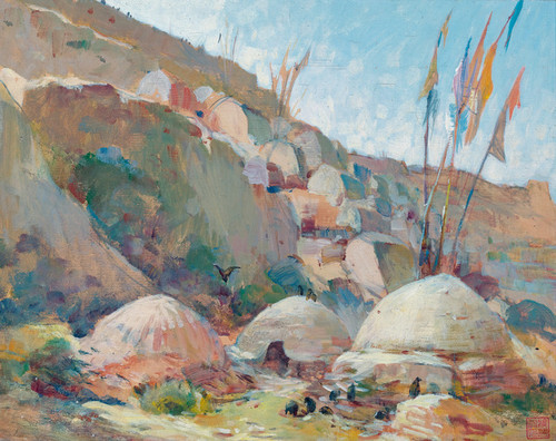 Art Prints of Chimeric Landscape by Alexander Evgenievich Yakovlev