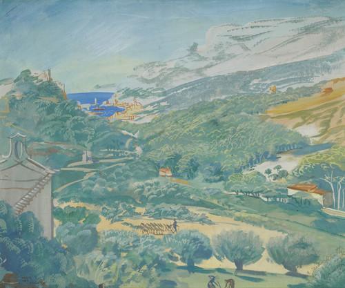 Art Prints of Landscape in Cassis by Alexander Evgenievich Yakovlev