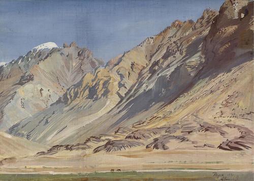 Art Prints of Mountain Landscape II by Alexander Evgenievich Yakovlev