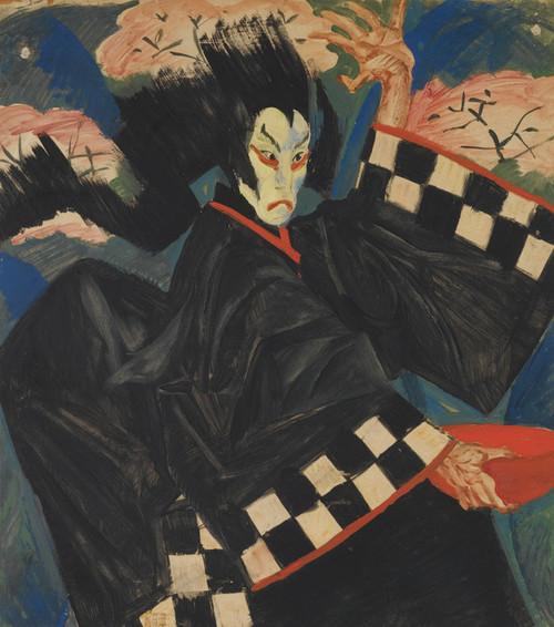 Art Prints of Portrait of Usaemon by Alexander Evgenievich Yakovlev