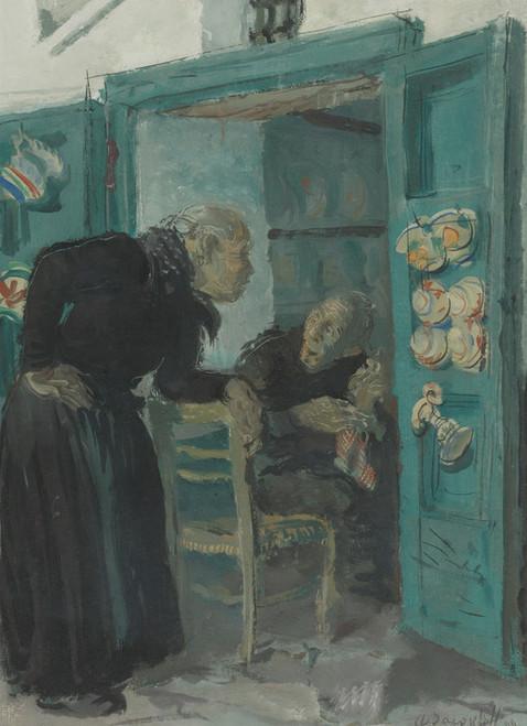 Art Prints of The Conversation, Capri by Alexander Evgenievich Yakovlev