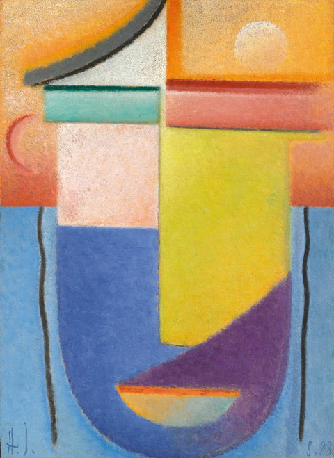 Art Prints of Abstract Head, Water and Light by Alexej Von Jawlensky